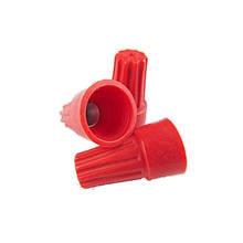 Колпачки для скрутки кабеля  P6  (красные) = 8*2,5 кв мм (100шт)