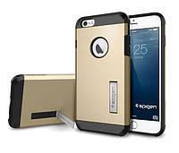 """Противоударный бампер Spigen для Apple iPhone 6 Plus 5.5"""" Gold"""