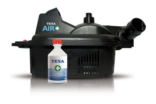 Установка для санобработки салона авто и кондиционеров TEXA
