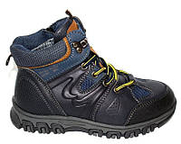 Осенние черные ботинки для мальчика