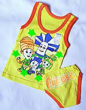 Комплект дитячої білизни на зріст 92-98 см