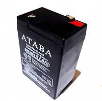 Аккумулятор Ataba 6V 6Ah Mah