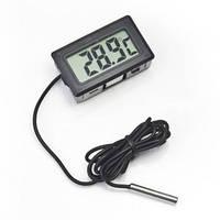 Цифровой Термометр Digital Tpm-10 Черный С Выносным Датчиком