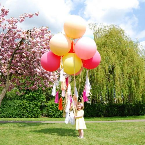 большие воздушные шарики