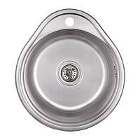 Мойка для кухни из нержавеющей стали толщина 0,6 мм Imperial 4843 Satin