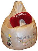 Бескаркасное кресло груша пуф для детей мягкое