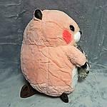 Плед мягкая игрушка 3 в 1 Бобёр абрикосовый  (58), фото 2