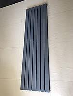 Радиатор дизайнерский вертикальный LIVORNO 7/1800 Антрацит матовый 1800*476, фото 1