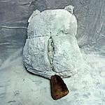 Плед мягкая игрушка 3 в 1 Бобёр серый  (76), фото 3