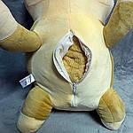Плед м'яка іграшка 3 в 1 Котик бежевий (62), фото 2