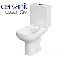 Унітаз-компакт Cersanit Color 011 Clean on з дюропластовим сидінням повільнопадаючим