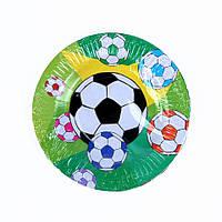 Тарелки бумажные d18 см 20 шт./уп. Футбол