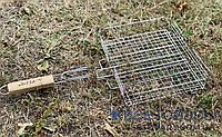 Решетка для гриля (барбекю) малая (31х24х6), фото 1