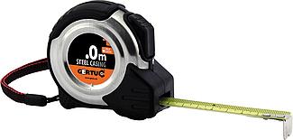 Рулетка измерительная   8м x 25мм, толщина 0,135мм, стальной корпус, GMIARSTAL8, Gertu