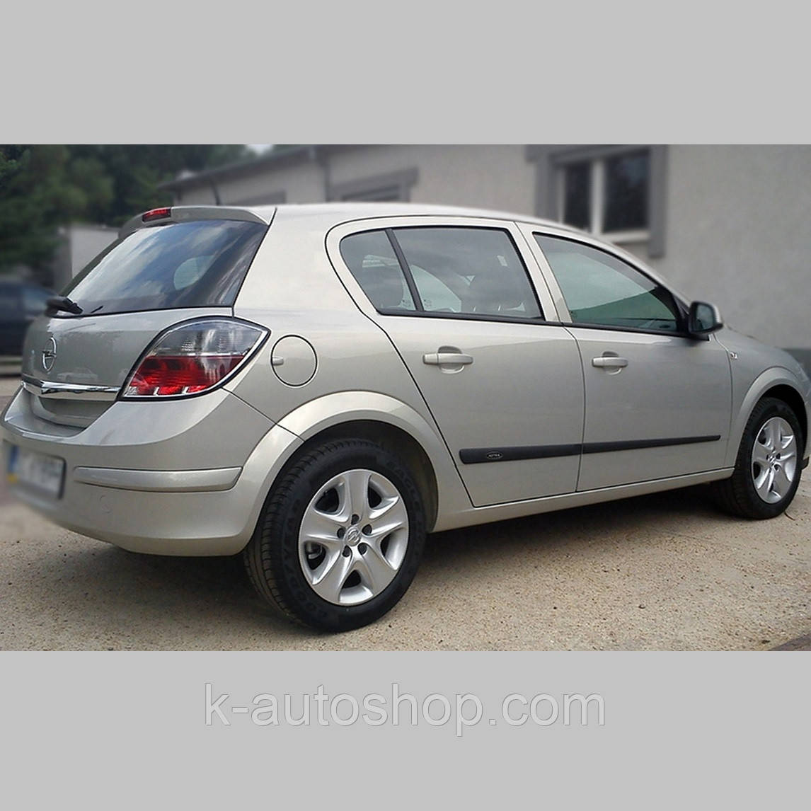 Молдинги на двері для Opel Astra H 5dr хетчбек, 4dr сєдан 2004-2014
