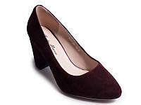 Туфли LEDY MARCIA K7368-209-1228 39 Бордовые, КОД: 955828