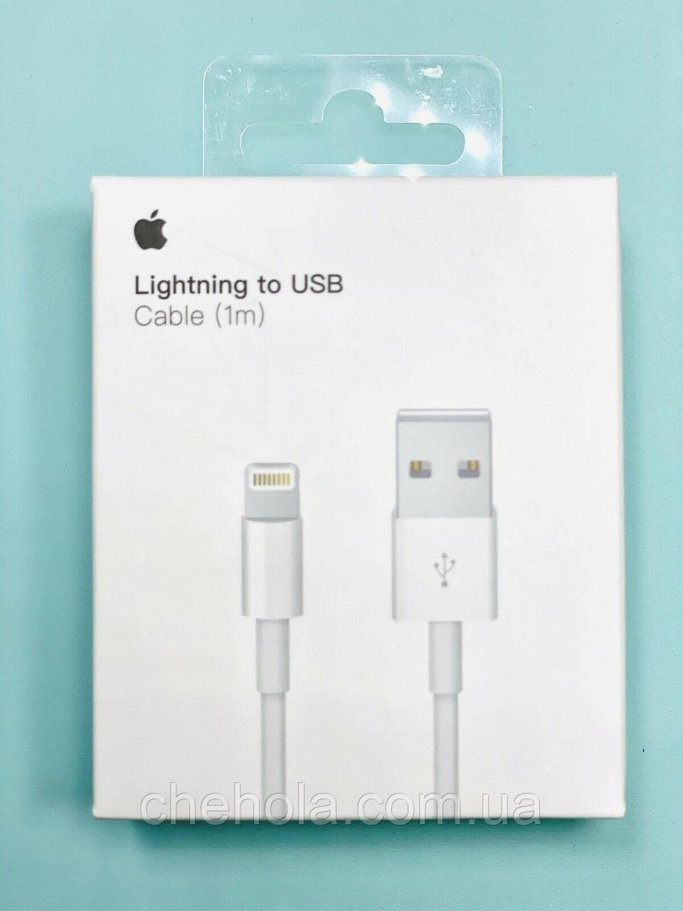 Оригинальный USB кабель для Iphone XR 1 Метр MD818ZM/A A1480