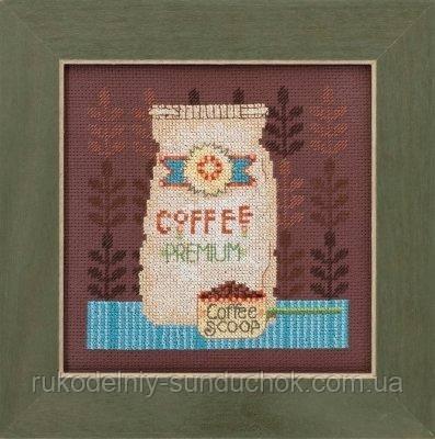"""Набор для вышивания """"Coffee Cups//Кофейные чашки"""" Mill Hill DM301614"""