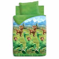 Детское постельное белье Хороший динозавр 100% хлопок ТМ Непоседа