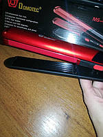 Щипцы для волос DOMOTEC MS 4909 2в1 (выпрямитель, гофре), фото 7