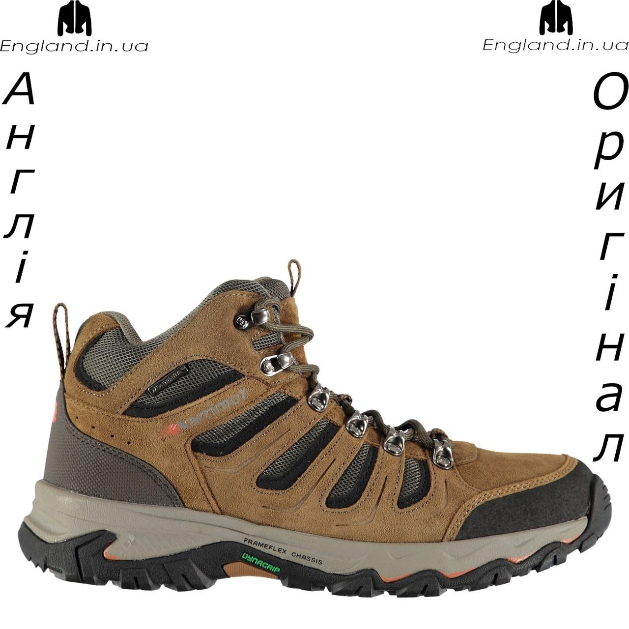 Ботинки мужские кожаные Karrimor из Англии - трекинговые