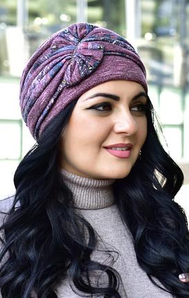 Жіноча шапка рожева, фото 2
