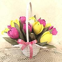 Букет из конфет Тюльпаны 19 шт.
