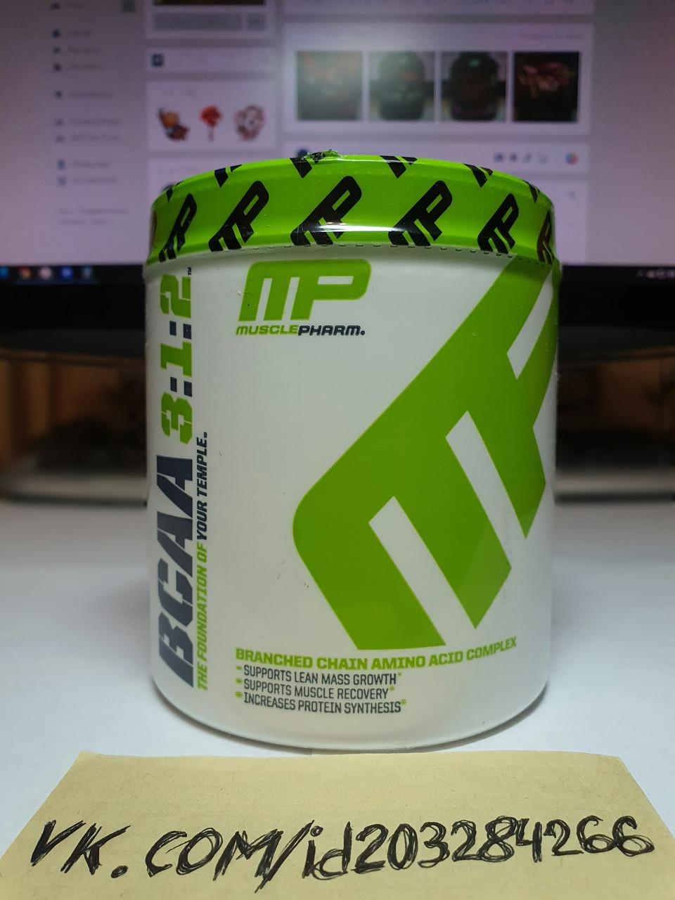 Аминокислоты BCAA MusclePharm BCAA 3:1:2 Powder 30 порций
