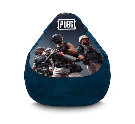 """Кресло мешок """"PUBG. Team 2"""" Флок, фото 2"""