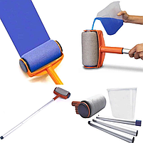 Валик для покраски Paint Roller с резервуаром для наполнения краски, фото 4