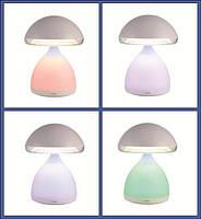 Настольная светодиодная лампа 621-1 со встроенным аккумулятором 7 цветов подсветки зарядка от USB, фото 5