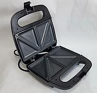 Электрическая сендвичница Domotec MS-7777, бутербродница с антипригарным покрытием 750 ВТ, фото 6