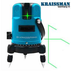 Лазерный нивелир Kraissmann 5 LL 30 (Зеленый луч)