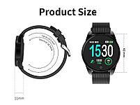 Наручные смарт часы Smart Watch M12 c  IPS экраном, фитнес-браслет, фото 8
