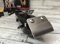 Машинка для стрижки животных GEMEI GM 6063 аккумуляторная, инструменты для груминга, фото 5
