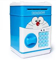 Детская электронная копилка сейф с кодовым замком и купюроприемником, фото 6