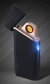 Электронная спиральная сенсорная зажигалка LIGHTER USB 110