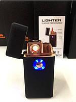 Зажигалка спиральная TH 705 2IN1 Газ + USB Charge, фото 2