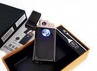 Зажигалка спиральная TH 705 2IN1 Газ + USB Charge, фото 4