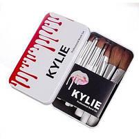 Профессиональный набор кистей для макияжа Kylie Professional Brush Set 12 шт, фото 3