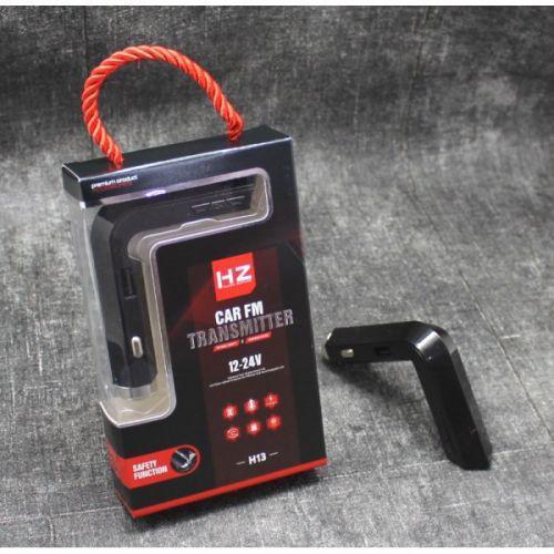 Автомобильный FM трансмиттер модулятор  HZ H13