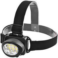 Налобный фонарик 539-6SMD, 3xAAA, фото 2
