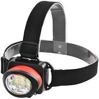 Налобный фонарик 539-6SMD, 3xAAA, фото 3