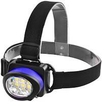 Налобный фонарик 539-6SMD, 3xAAA, фото 4