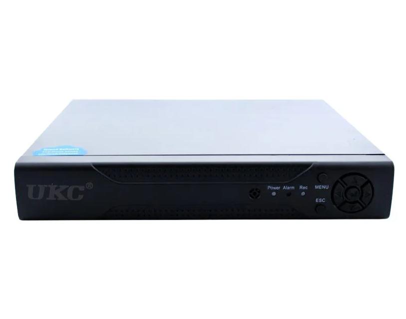 Регистратор DVR 6604N для IP камер 4-CAM, система видеонаблюдения, регистратор 4-х канальный