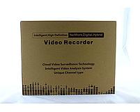 Регистратор DVR 6604N для IP камер 4-CAM, система видеонаблюдения, регистратор 4-х канальный, фото 3