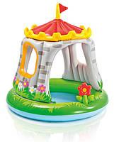 Детский надувной бассейн интекс 57122 Королевский замок (122X122 СМ), фото 3