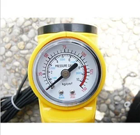 Компрессор AC+PRO.12VOLT (YELLOW LARGE SINGLE BAR GAS PUMP), фото 6