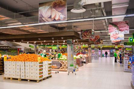 """Противопожарные системы в супермаркете """"Novus"""""""