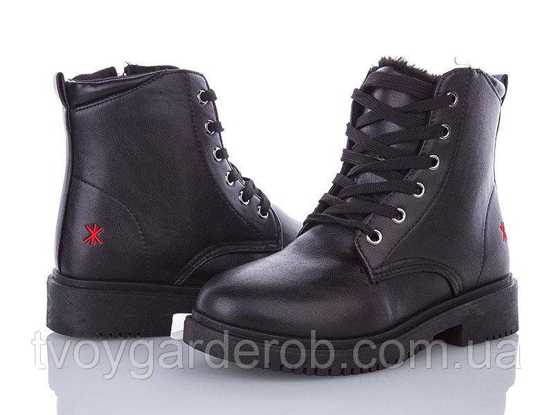 Зимові жіночі черевики AESD р.36-39 (код 8220-00)